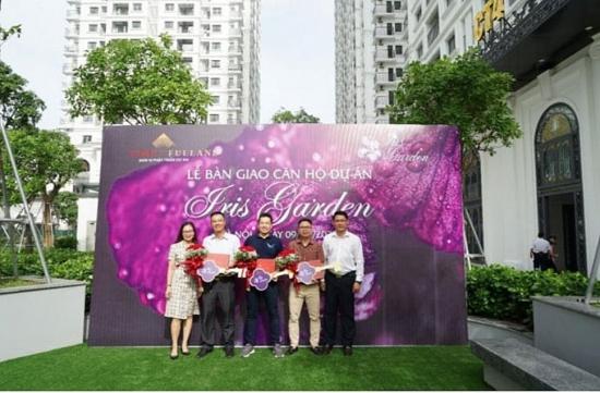 Dự án Iris Garden - Khu vườn mùa hạ trong xanh giữa Thủ đô