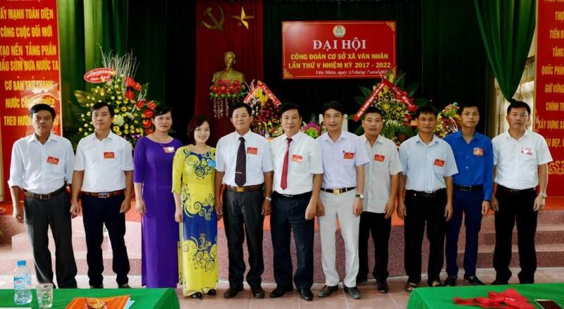 Các xã, thị trấn  tổ chức Đại hội nhiệm kỳ 2017 - 2022