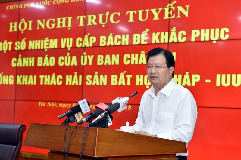 """Tìm giải pháp gỡ """"thẻ vàng"""" cho thuỷ sản Việt Nam"""