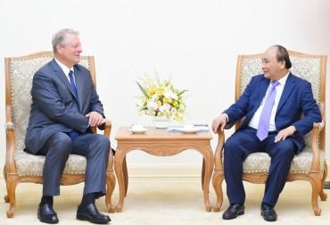 Thủ tướng tiếp cựu Phó Tổng thống Hoa Kỳ