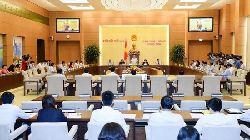 Phân công chuẩn bị nội dung họp Uỷ ban Thường vụ Quốc hội