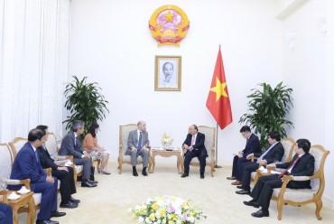 Thủ tướng tiếp lãnh đạo doanh nghiệp nước ngoài