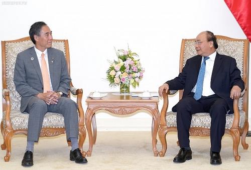 Thủ tướng tiếp Thống đống tỉnh Nagano (Nhật Bản)