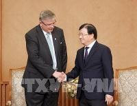 Phó Thủ tướng Trịnh Đình Dũng tiếp Tổng Giám đốc Công ty Scatec Solar