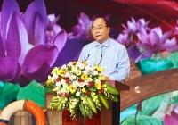 Thủ tướng dự cuộc giao lưu điển hình tiên tiến học tập và noi gương Bác