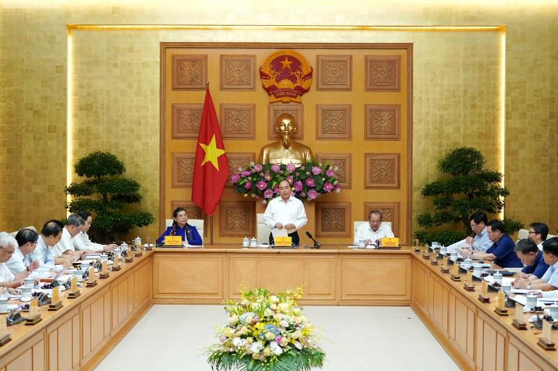 Thủ tướng chủ trì cuộc họp Tiểu ban Kinh tế - Xã hội Đại hội Đảng XIII