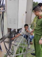 Bắt đối tượng chuyên trộm cắp dây điện