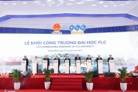 Khởi công xây dựng trường Đại học FLC, mô hình đào tạo toàn diện đầu tiên tại Quảng Ninh
