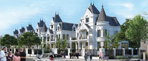 Biệt thự lâu đài The Lotus Center (Tây Hồ): Tái hiện lại phong cách sống hoàng gia
