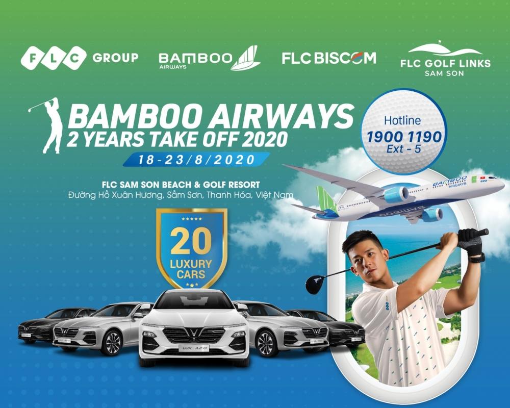 Khởi động Bamboo Airways 2 Years Take Off 2020 với giải thưởng hàng trăm tỷ đồng