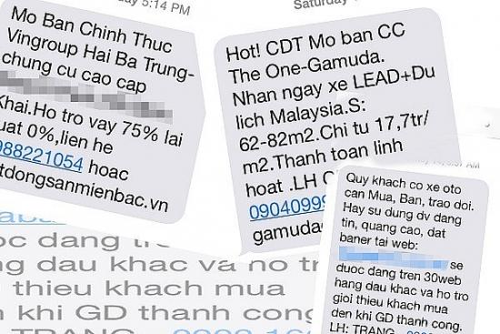 Doanh nghiệp phải hướng dẫn người sử dụng dịch vụ về cách thức chống tin nhắn rác