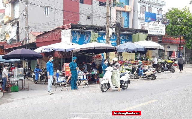 Huyện Phú Xuyên quyết liệt đẩy lùi dịch Covid-19