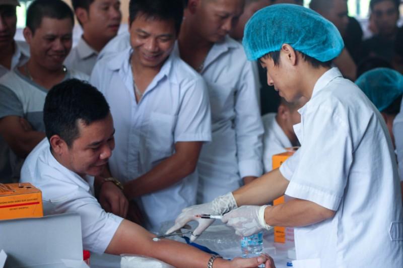 Công ty  CP  vận tải Hoàng Minh Dũng tổ chức khám sức khỏe cho người lao động