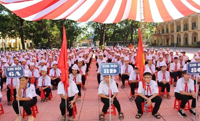 Huyện Phú Xuyên tưng bừng chào đón năm học mới