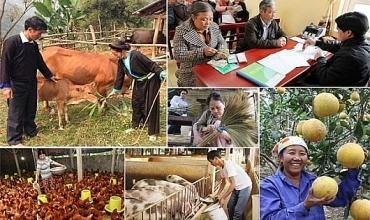Công cuộc giảm nghèo bền vững vẫn còn nhiều khó khăn