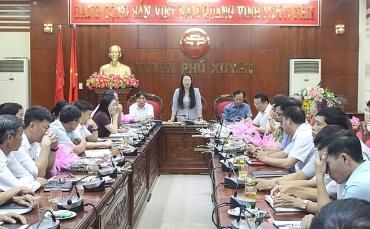 Tổ chức hội nghị giao ban thường kỳ tháng 9