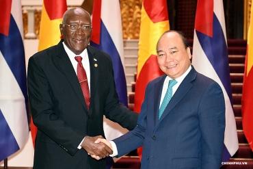 Phát huy mối quan hệ hữu nghị Việt Nam – Cuba