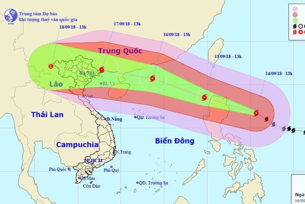 Chủ động ứng phó cơn bão Mangkhut
