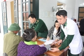 Kết hợp quân dân y trong khám, chữa bệnh