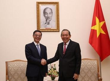 Việt Nam và Trung Quốc hợp tác tốt trong điều tra các loại tội phạm