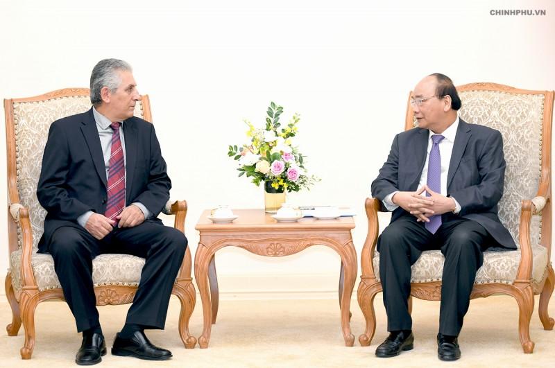 Thủ tướng tiếp Tổng Thư ký Liên hiệp Công đoàn Thế giới