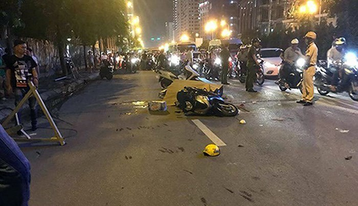 Khởi tố vụ thanh sắt rơi khiến một người tử vong trên đường Lê Văn Lương