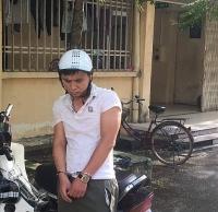 Bắt đối tượng trộm cắp xe máy trong ký túc xá