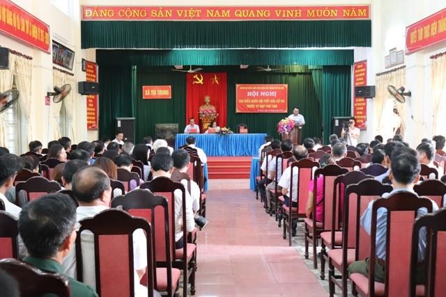 """Huyện Phú Xuyên: Cử tri kiến nghị nhiều vấn đề """"nóng"""""""