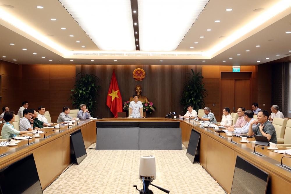 Phó Thủ tướng Vũ Đức Đam chủ trì cuộc họp về phòng chống Covid-19