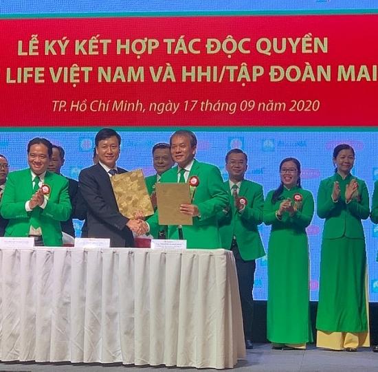 Dai-ichi Life Việt Nam và HHI/Tập đoàn Mai Linh ký kết hợp tác độc quyền
