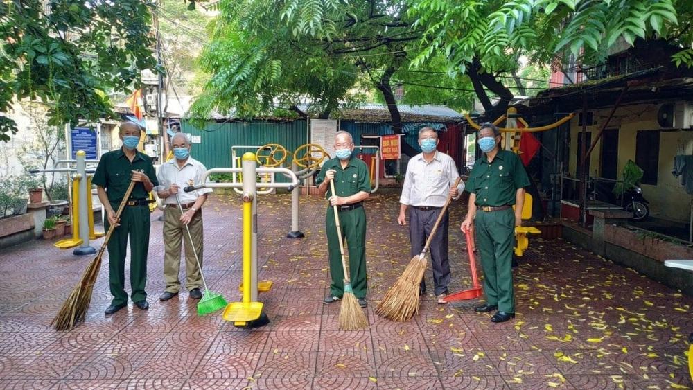 Quận Đống Đa hưởng ứng chiến dịch làm cho thế giới sạch hơn năm 2020