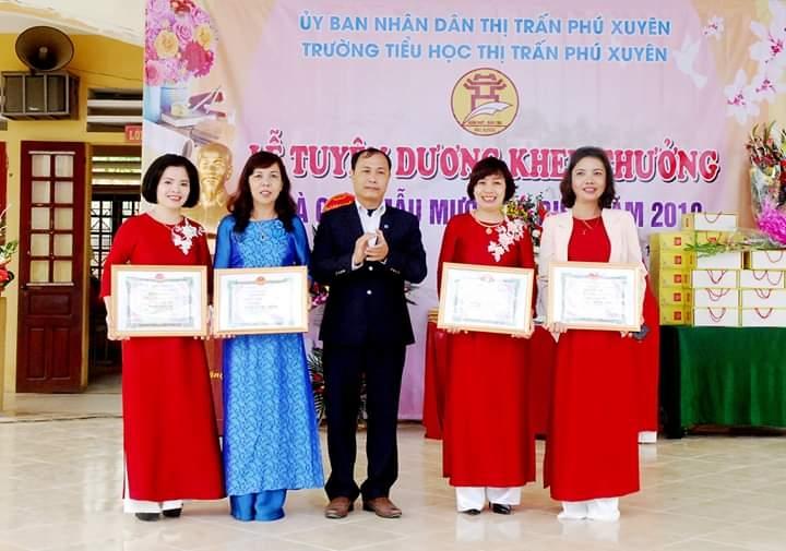 Công đoàn trường Tiểu học thị trấn Phú Xuyên: Phát động nhiều phong trào thi đua