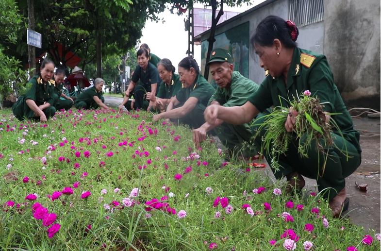 Người cựu chiến binh nêu gương sáng lan tỏa phong trào xây dựng nông thôn mới