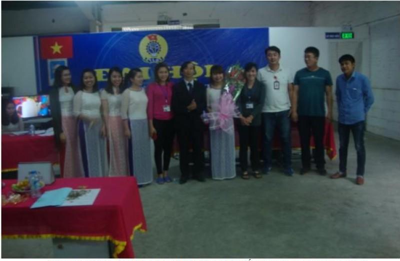Công ty C&J ACCESSORIES VINA tổ chức Đại hội Công đoàn