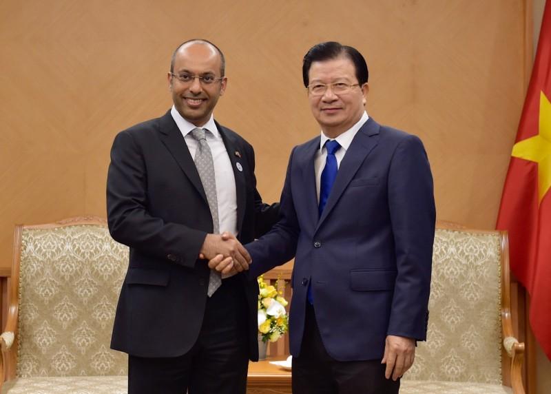 Chính phủ Việt Nam sẽ tạo mọi điều kiện cho các nhà đầu tư UAE
