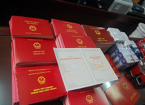 Chấn chỉnh việc cấp văn bằng, chứng chỉ, giấy chứng nhận