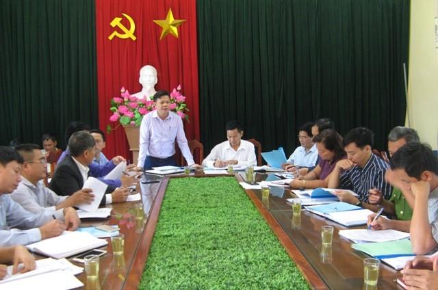 Kiểm tra phong trào xây dựng đời sống văn hóa tại Phú Xuyên