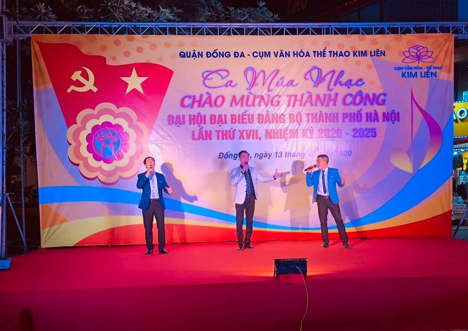 Quận Đống Đa tổ chức chương trình nghệ thuật chào mừng thành công Đại hội Đảng bộ thành phố Hà Nội