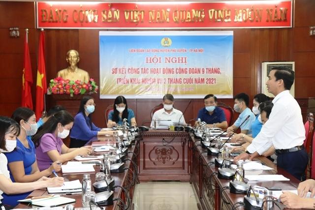 LĐLĐ huyện Phú Xuyên: Chú trọng đổi mới các phong trào thi đua