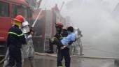 Mỹ Đức diễn tập phương án chữa cháy và cứu nạn, cứu hộ