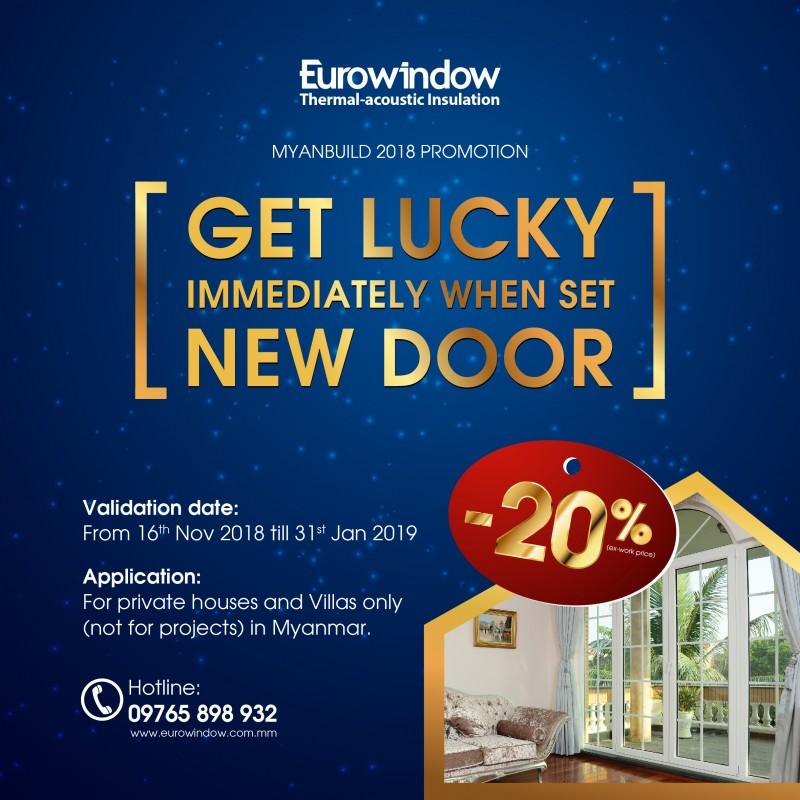 Eurowindow vững bước tại thị trường Myanmar khi tham gia Triển lãm