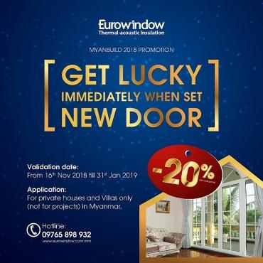 Eurowindow vững bước tại thị trường Myanmar khi tham gia Triển lãm Myanbuild 2018