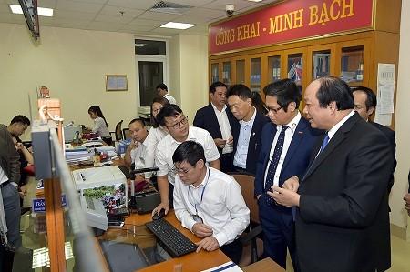 Hà Nội đi đầu trong cải cách thủ tục hành chính