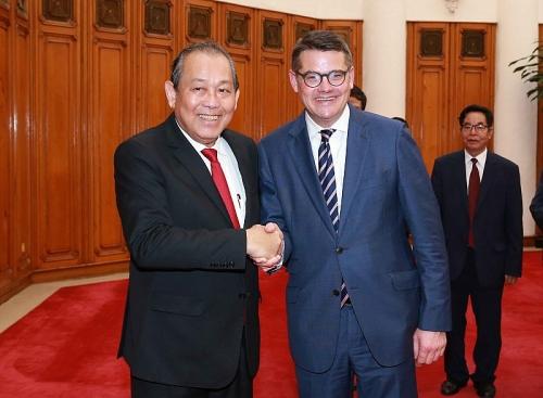 Quan hệ Việt Nam-CHLB Đức ngày càng phát triển