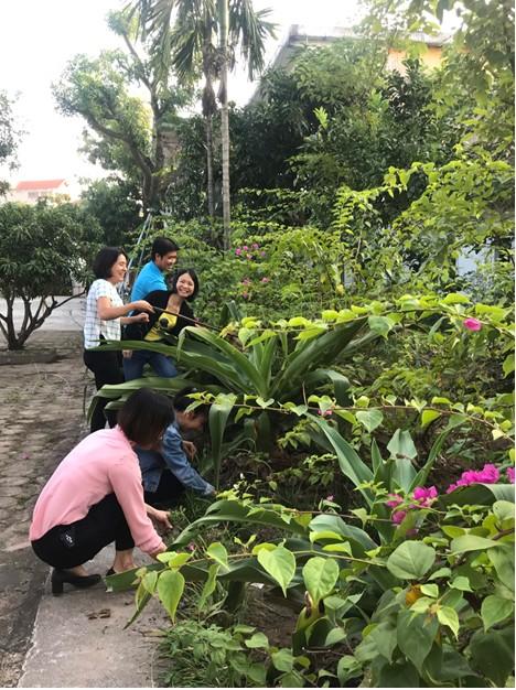 Tích cực xây dựng môi trường cơ quan xanh – sạch – đẹp