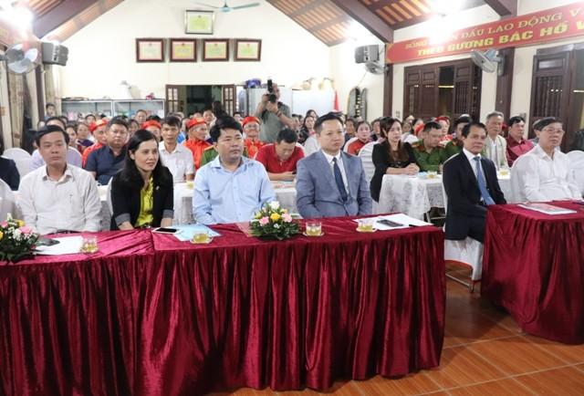 Thị trấn Phú Minh, Phú Xuyên: Sôi nổi ngày hội đại đoàn kết toàn dân ở tiểu khu