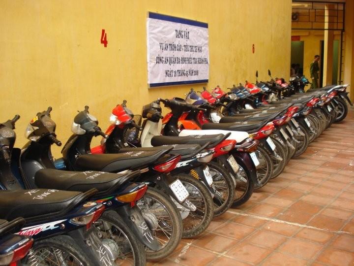 Mua xe máy trộm cắp bị xử lý thế nào?