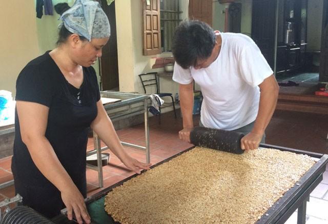 Thăng trầm làng bánh kẹo Cổ Hoàng