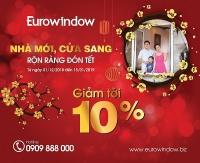 Eurowindow khuyến mãi lớn đón năm mới 2019