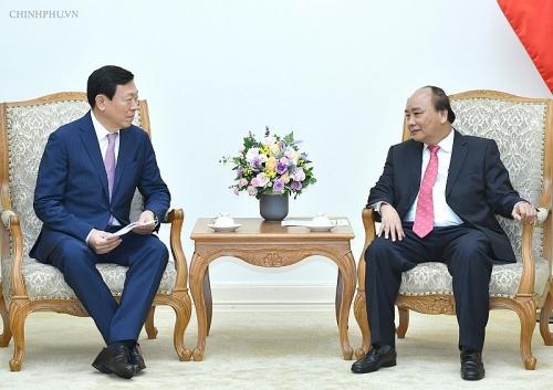 Thủ tướng tiếp Chủ tịch Tập đoàn Lotte